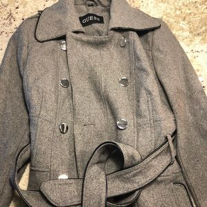 Trench coat grey guess